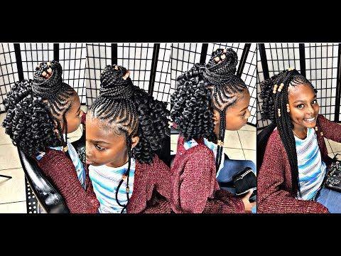 KIMA KALON CROCHET CURLS 4 YOUNG GIRLS [Video] - https://blackhairinformation.com/video-gallery/kima-kalon-crochet-curls-4-young-girls-video/