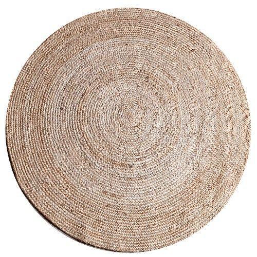 Karpet jute is een serie van een rond karpet van 120 cm. Deze is verkrijgbaar in het zwart, wit en naturel. Materiaal: Jute Dit karpet is op ieder L5 filiaal aanwezig.