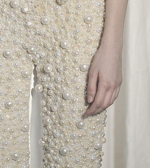 Удивительная деталь Maison Martin Margiela Haute Couture брюки