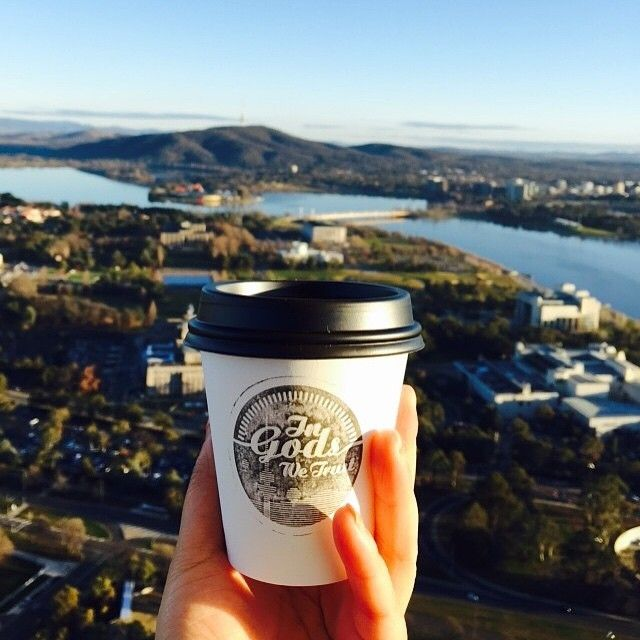 This has to be one of the coolest Canberra coffee shots we have ever seen! @thegodscafe takes the humble morning coffee to a whole new level. Bravo! #visitcanberra #seeaustralia