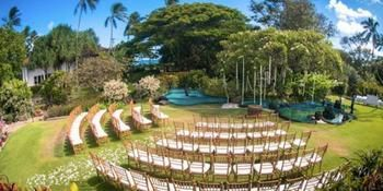 Kauai Wedding Venues, The Plantation Gardens Restaurant & Bar in Koloa is nestled among award winning orchid gardens & peaceful koi ponds.