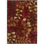 Contour Chocolate (Brown) 8 ft. x 10 ft. 6 in. Area Rug