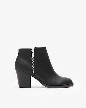 6a6189b4bb3 heeled ankle booties