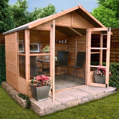 Lucia Summerhouse- Garden Buildings Direct £349