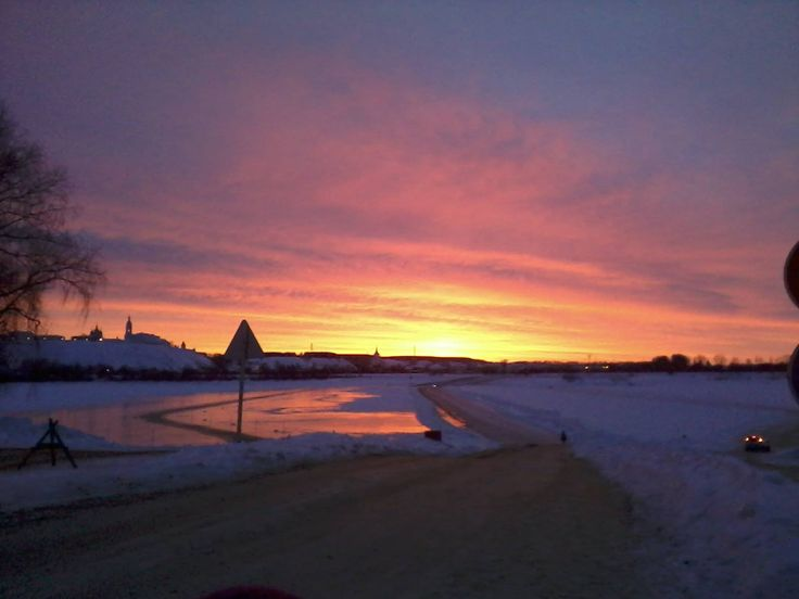Восход на переправе, Тобольск