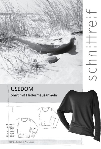 "Schnittmuster ""Usedom"" von Stoffsalon auf DaWanda.com"