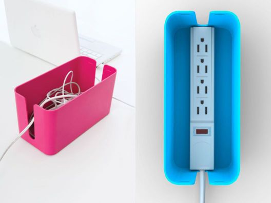 CableBox - smart idea to hid unsightly cords.