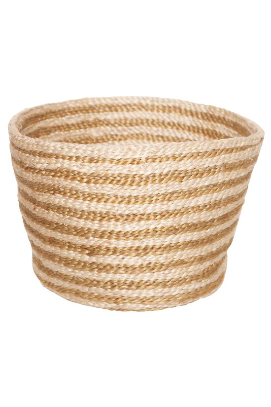 The Dharma Door USA - Jute Bowl - Gold Stripe $69.00 (/  sc 1 st  Pinterest & 99 best The Dharma Door Products images on Pinterest | Fair trade ... pezcame.com