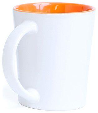 Orange Mugs modern cups and glassware