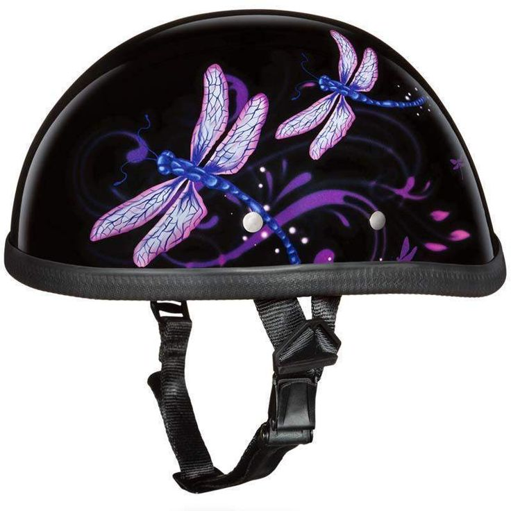 Eagle Style with Dragonfly Novelty Motorcycle Helmet - SKU USA-6002DF-DH