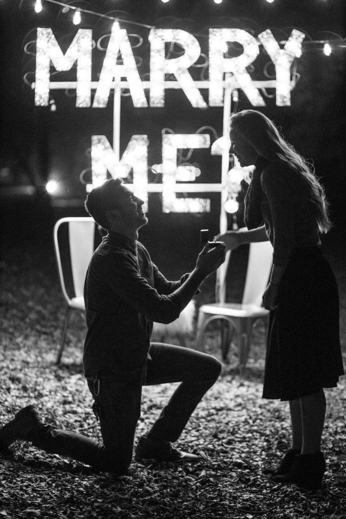 This proposal in the park is such a dream, and she was totally surprised!