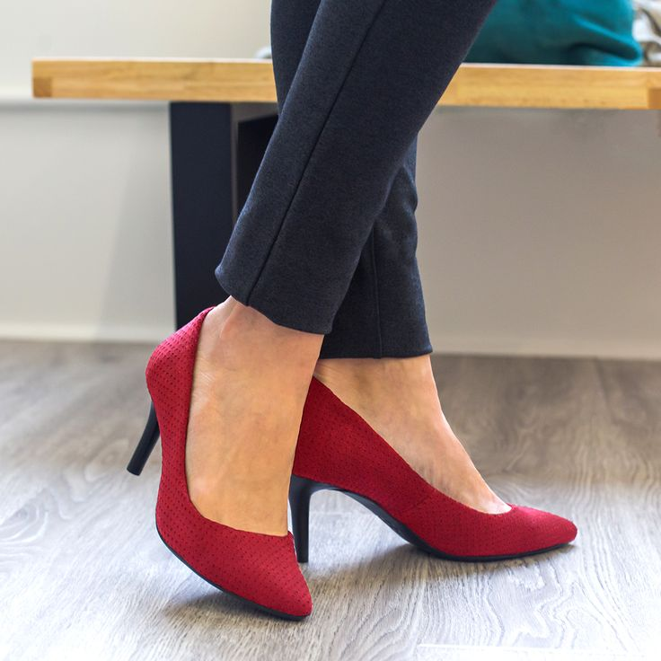 Athletic-Inspired Heels (Yoga Shoes)