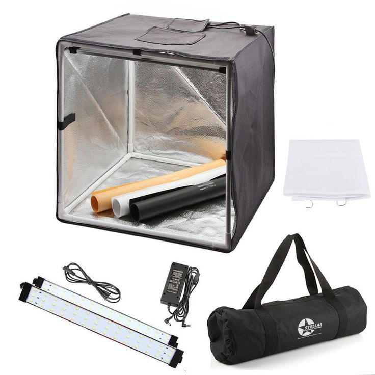Stellar Photo Cube/Photo Tent For Table Top Photogrophy - Stellar Lighting Systems