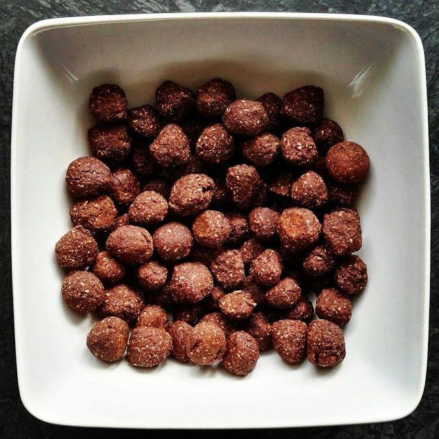 Chocolate Muffin Blog: Dietetyczne chrupki czekoladowe nesquik