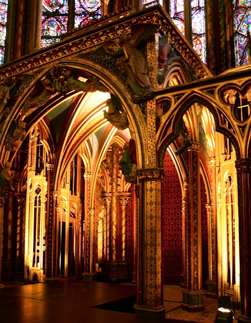 .churches of Paris, la Sainte-Chappelle