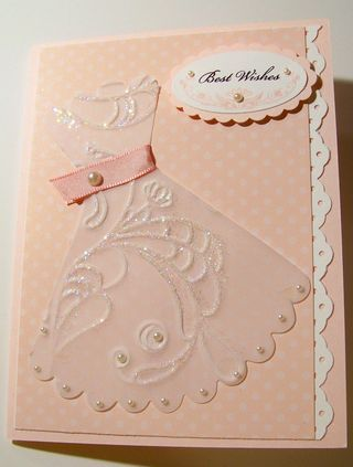 Bridal - elegant lines embossing folder