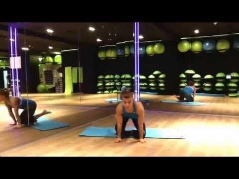 Natalia Gacka - rozciąganie na koniec treningu - YouTube