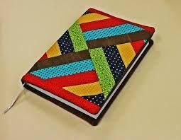 artesanato capa de caderno em tecido - Pesquisa Google