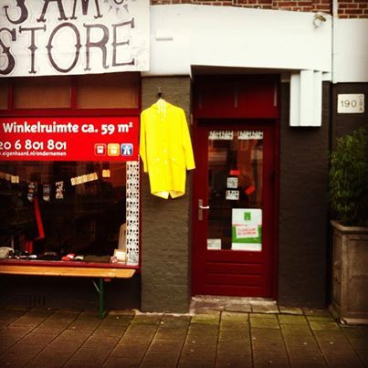 Pop-up Store Amsterdam - Sam Store - clothes