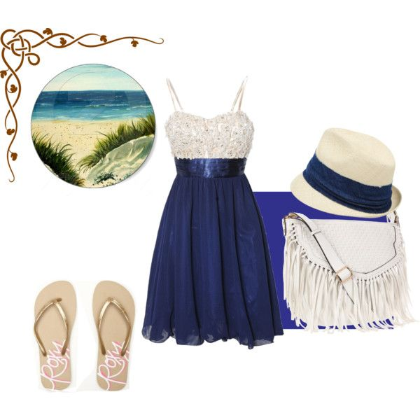 """Beach Day"" by isi-belieber3 on Polyvore"