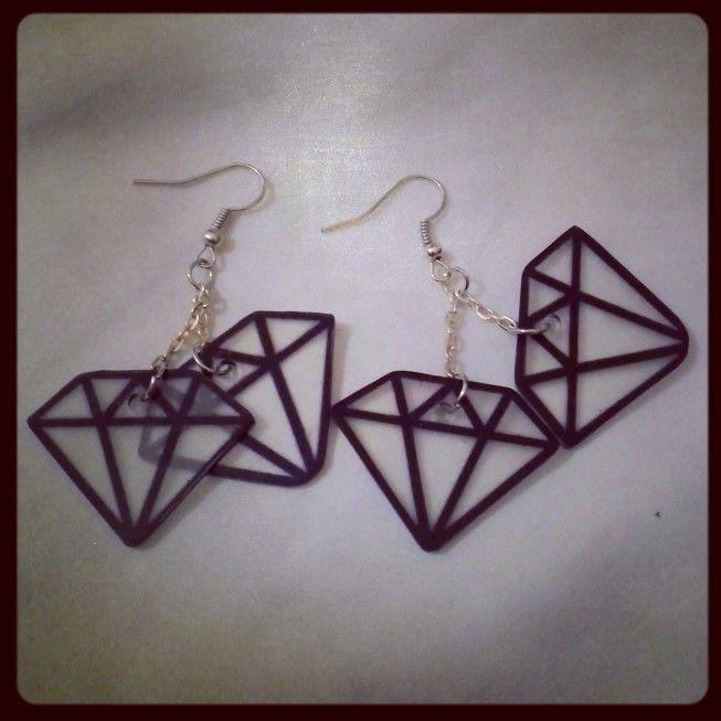 Boucles Diamants