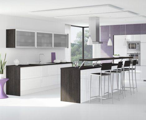 Moderní designová kuchyně Tessa. Kuchyně a spotřebiče jedné značky - gorenje. #kuchyně #design #interiér #domov #gorenje