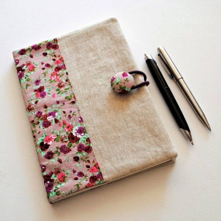 Tutorial Notebook Cover ~ Images about fabric covered notebooks on pinterest