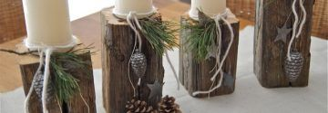 Mit Holz kannst du die schönsten Dekorationen für die Wohnung fabrizieren……..8 Ideen mit Holz zum Selbermachen!