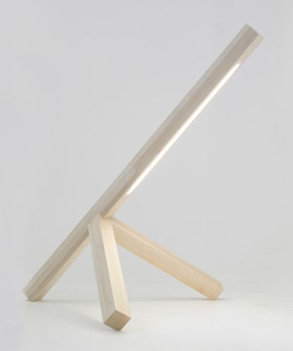 Woodwork Ltd Edition lamp | BIG-GAME for Galerie Kreo