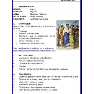 GUIA DIDACTICA DE ACTIVIDADES Código: PGA-02-R12 Versión: 1 Fecha: ENERO 2011  IDENTIFICACION: GRADO: Noveno PERIODO: Segundo AREA: Educación Religiosa IN. http://slidehot.com/resources/educacion-religiosa-9-2-p.47559/