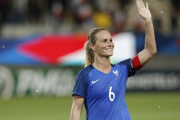 Football - Football Féminin - Amandine Henry devrait s'engager avec le PSG jusqu'à la reprise du championnat américain. (A. Martin/L'Equipe)
