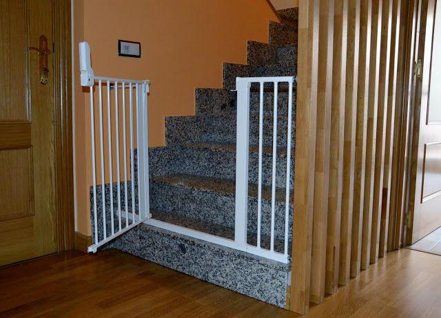 M s de 25 ideas incre bles sobre barrera seguridad ni os - Barrera escalera bebe ...