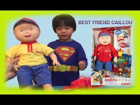 BEST FRIEND CAILLOU DOLL CAILLOU VIDEO CAILLOU TOY FOR KIDS DOLL FOR BOY...