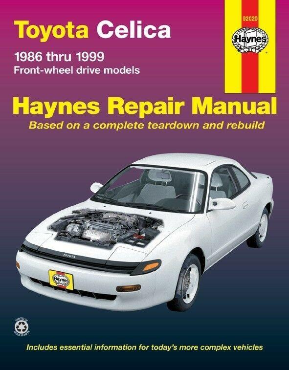 Advertisement Ebay Repair Manual Gt Haynes 92020 Fits 1986 Toyota Celica Repair Manuals Toyota Corolla Toyota Camry