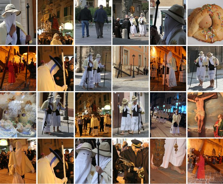 Pictures of Easter in Italy - Processions, Rites and Specialties : italiannotes  April 14, 2014  #Puglia