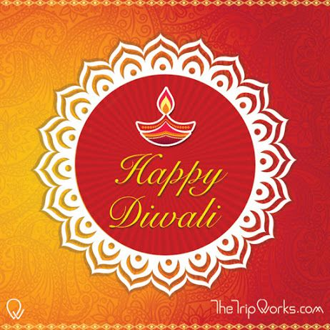 May this #Diwali fulfill all your dreams of traveling with #TheTripWorks  #HappyDiwali
