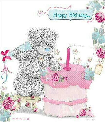 Tatty Teddy ~ Happy Birthday