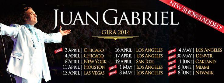 Juan Gabriel Volver Tour Abre Mas Fechas En U.S
