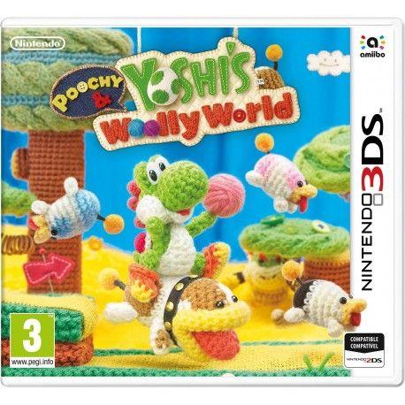 Poochy & Yoshis Woolly World para la familia de consolas Nintendo 3DS es una aventura ambientada en un mundo de tela.Este juego contiene nuevas características, además de todos los niveles de la versión para Wii U de Yoshi's Woolly World. Hay nuevos niveles exclusivos centrados en Poochy.