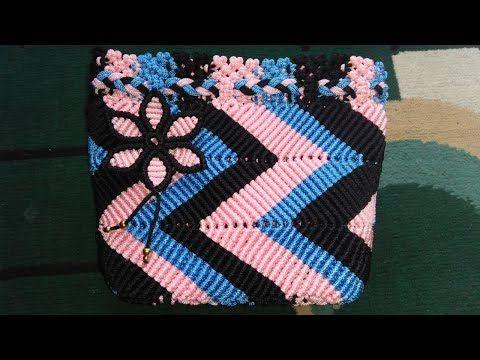 Tutorial kombinasi tas tali kur motif siput - YouTube  2be6d7d994