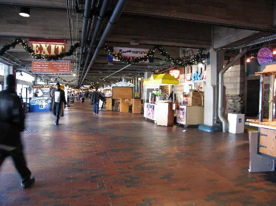 Underground Atlanta | Underground Atlanta on a weekday morning