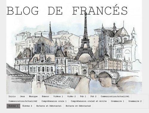 Con estos cinco blogs para las clases de Francés en Secundaria, l@s alumn@s podrán reforzar lo aprendido en gramática, ver vídeos informativos o series, así como practicar este idioma a través