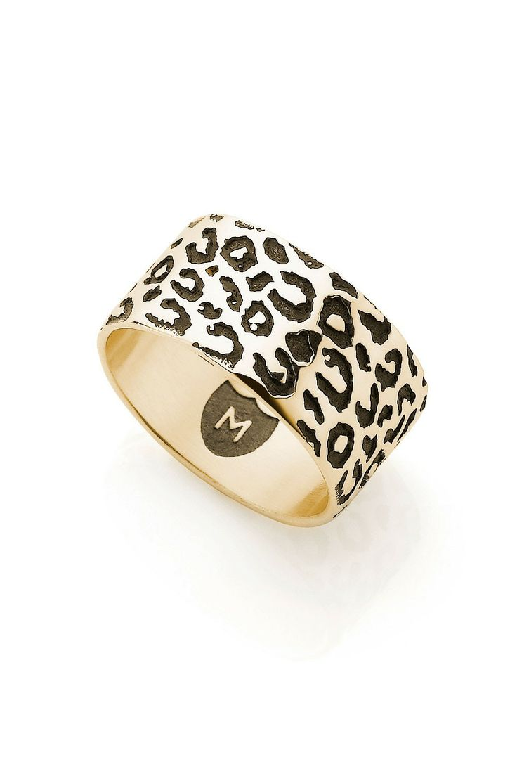Leopard Cat Ring - Gold
