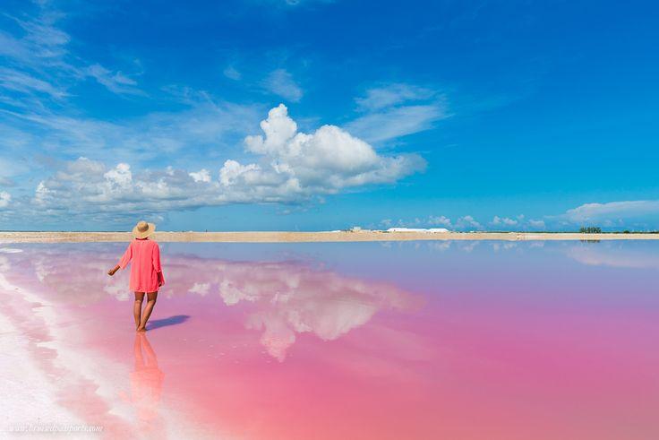 Rio-Lagartos-Las-Coloradas-Yucatan-Coloured-Lagoon