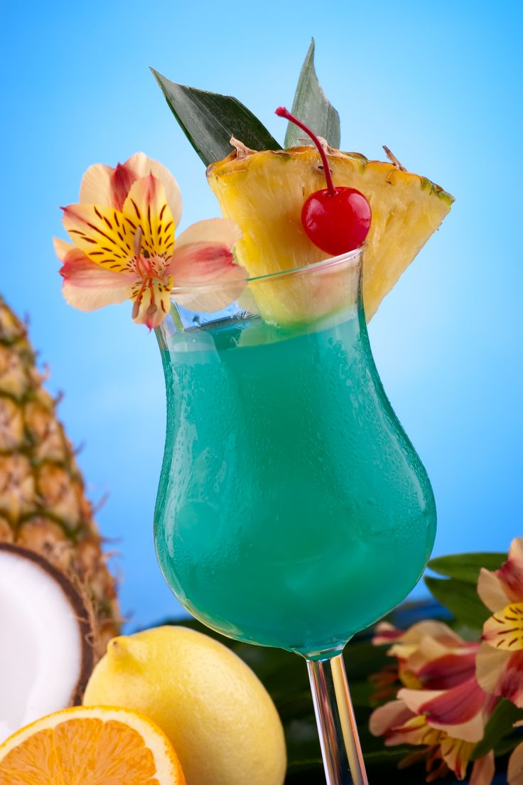 Blue Hawaiian Recipe Cocktails Liqueurs And Coconut