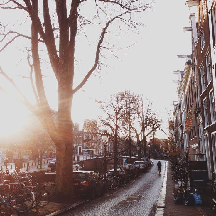 Morning light - Kerkstraat, Amsterdam