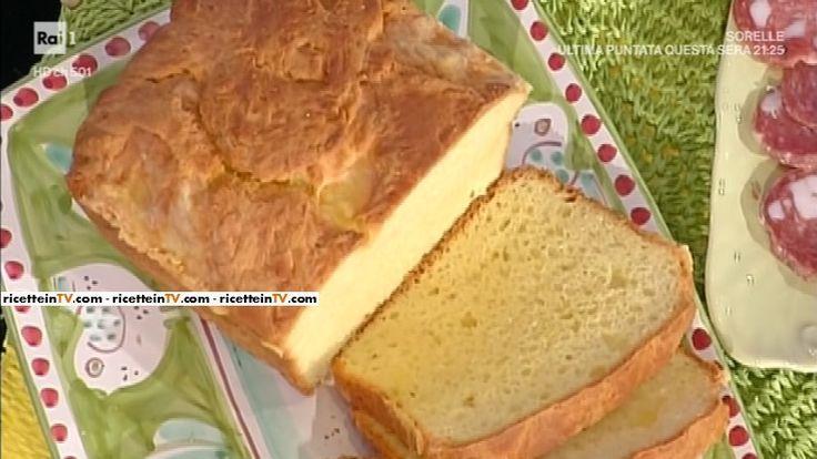 """La ricetta della torta al formaggio di Anna Moroni del 13 aprile 2017, a """"La prova del cuoco""""."""