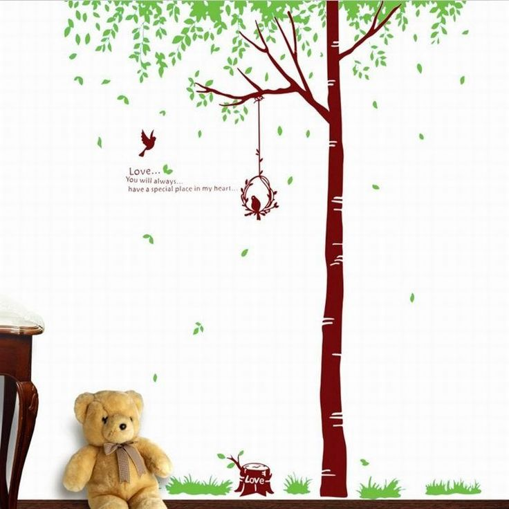 Best Wall Stickers For Kids Ideas On Pinterest Cool Kids - Bambi love tree wall decals