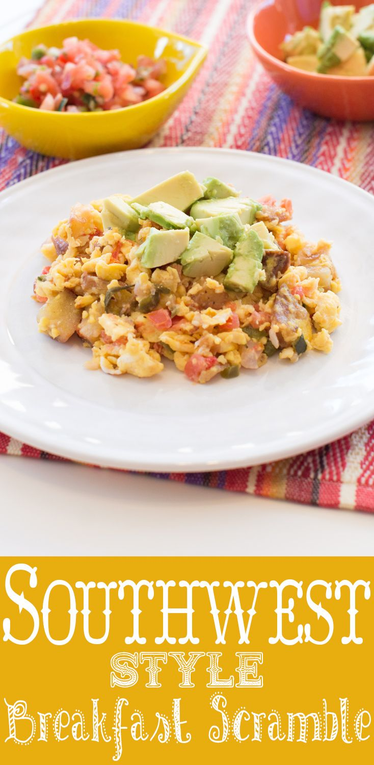 This Southwest Style Breakfast Scramble livens up scrambled eggs and ...