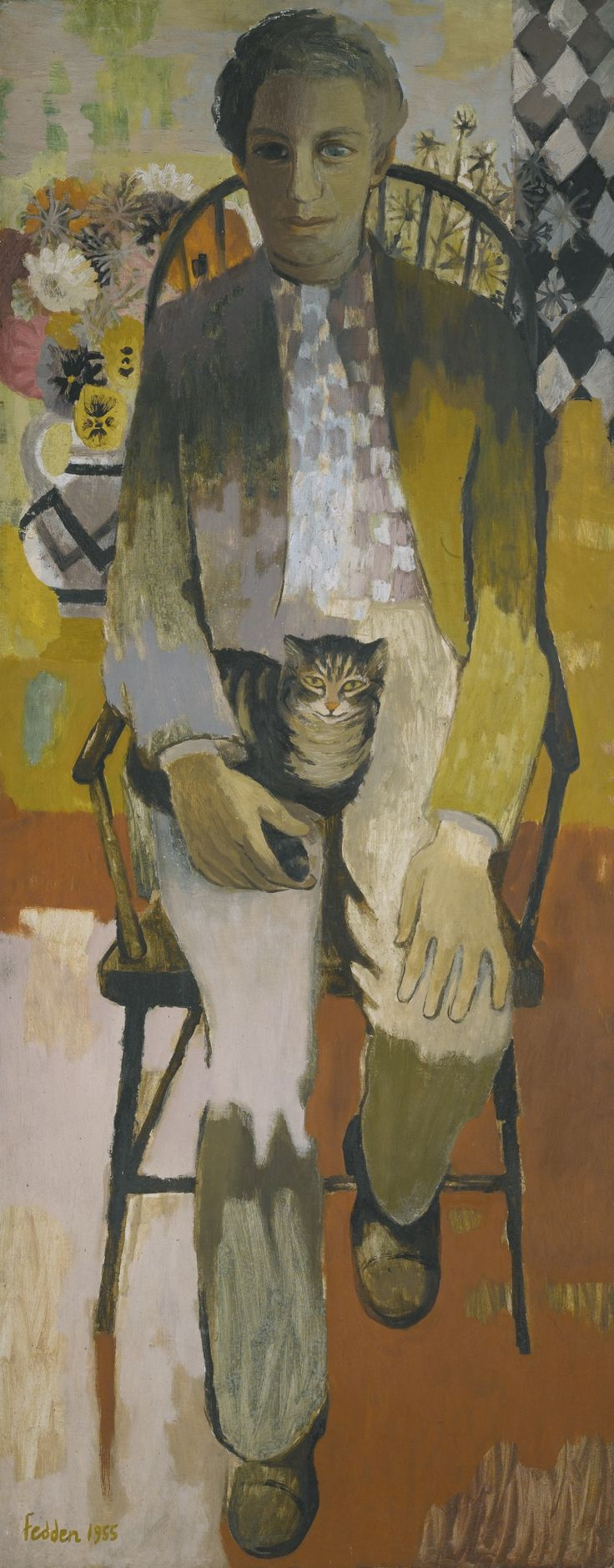'Julian Trevelyan' by Mary Fedden, 1955 (oil on canvas)